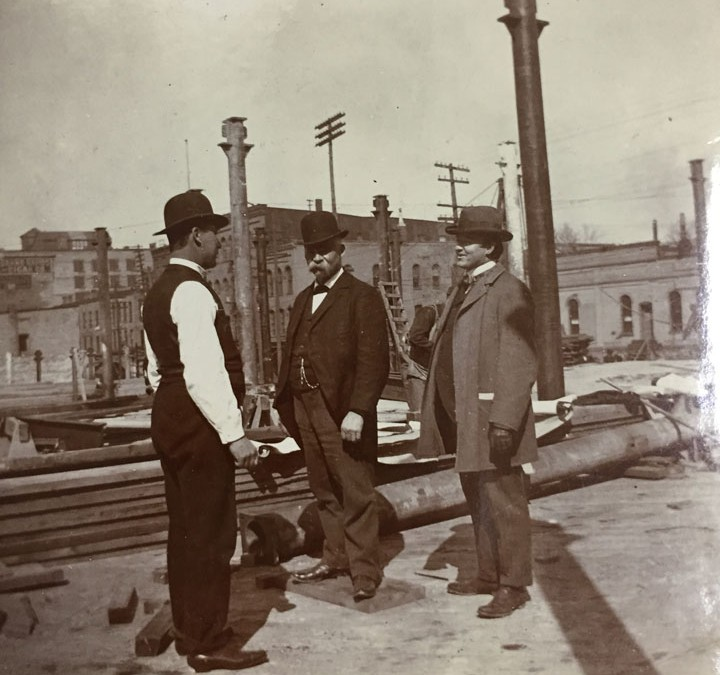 Building the Waters Building  – 1898